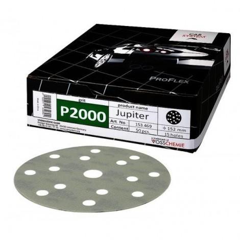 Шкурка PROFLEX Jupiter 152 mm  P2000