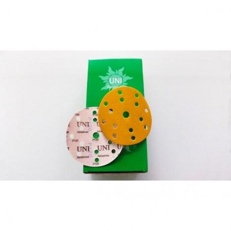 Шкурка UNI Р 120 хукет 15 дупки