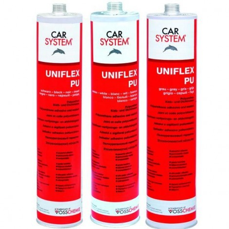 Лепило фуги UNIFLEX  PU-сиво - 0.310