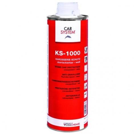 Защита за прагове KS-1000 черна - 1