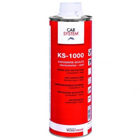 Защита за прагове KS-1000 бяла - 1
