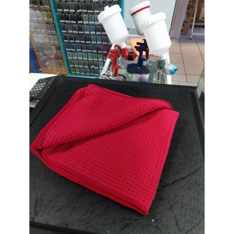 ОПТИУМ вафлена кърпа  40x40cm червен