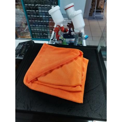 Микрофибърна кърпа мека за полиране 60x40cm ОРАНЖЕВА