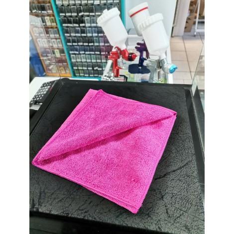 T4W Микрофибърна кърпа мека за полиране 40x40cm розова