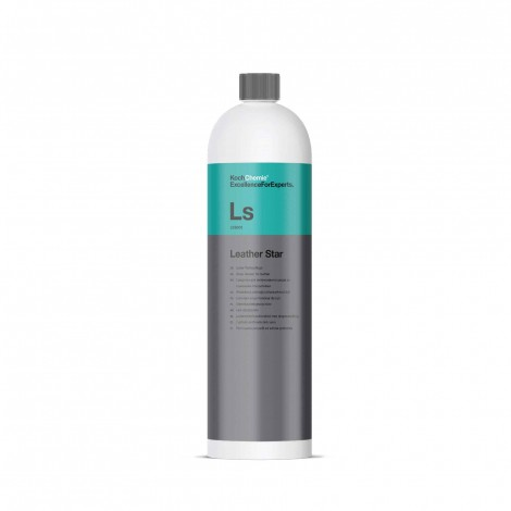Ls - Leather Star - Препарат за поддържа, консервиране и почистване  на естествена кожа