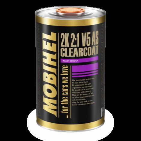 Mobihel  2K 2:1 Безцветен лак V5 HS Anti-scratch