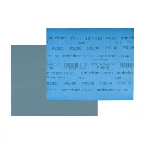 Smirdex водна шкурка на лист 270 - 230х280 мм