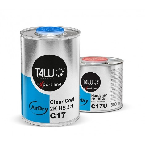 T4W eXpert line C17 AIRDRY Clearcoat HS 2K 2:1 /1L