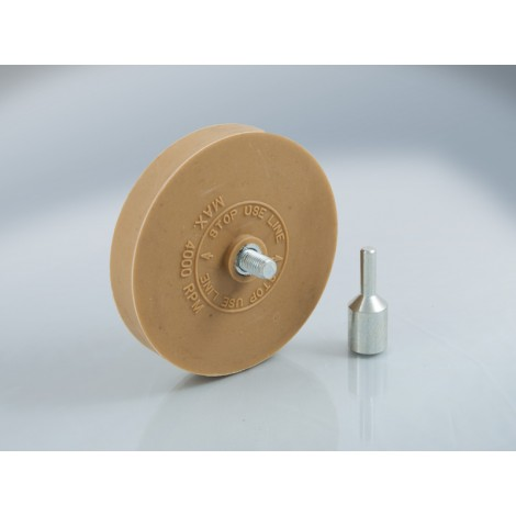 T4W Rubber roller adhesive remover with adapter