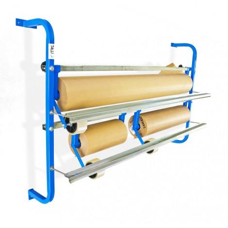 СТОЙКА ЗА ХАРТИЯ T4W 2P+ Film- paper roll dispenser rack / 3 rolls