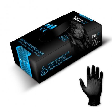 T4W ръкавици за еднократна употреба черни / size: L, XL