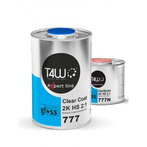 T4W eXpert line T777 Clearcoat VHS 2:1 / 1L